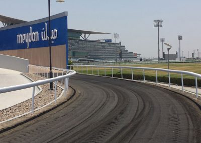Rails in Meydan